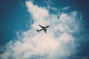 taking a plane