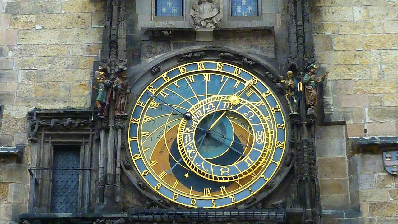 Prauea - The astronomical clock