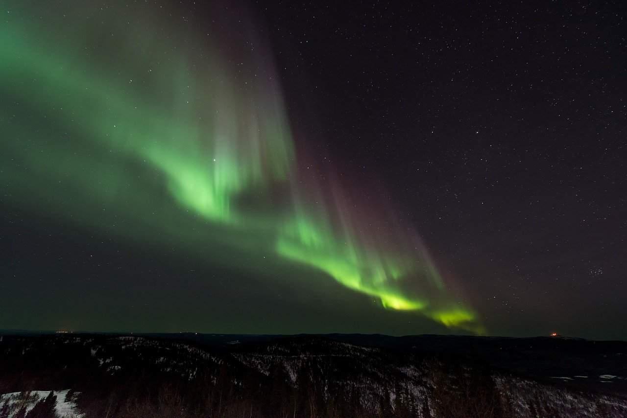 Finlandia - aurora boreale