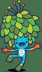 Tom, la mascotte delle Paralimpiadi di Rio 2016