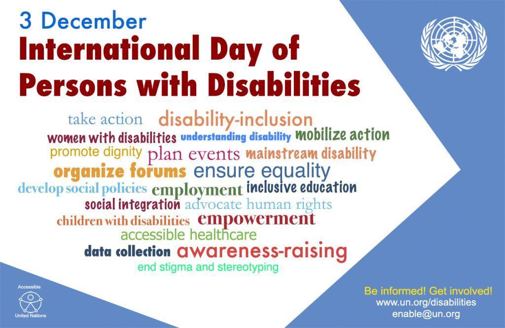 Giornata mondiale della disabilità 2016_poster inglese