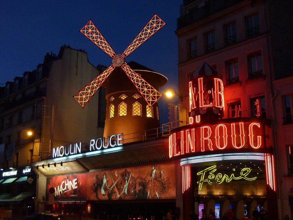 Paris - The Moulin Rouge