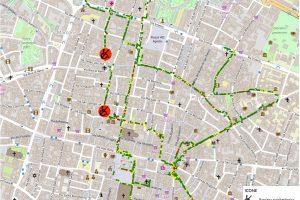 Kimap mappa l'accessibilità di Bologna