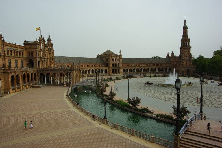 Siviglia - Piazza di Spagna